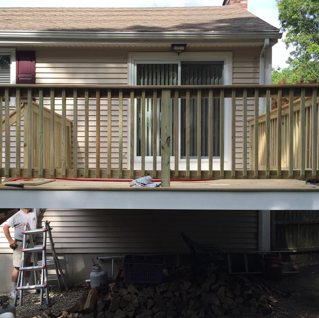Deck Contractor, Boston, MA