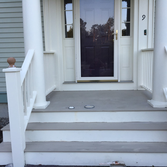 Remodeled Porch Contractor