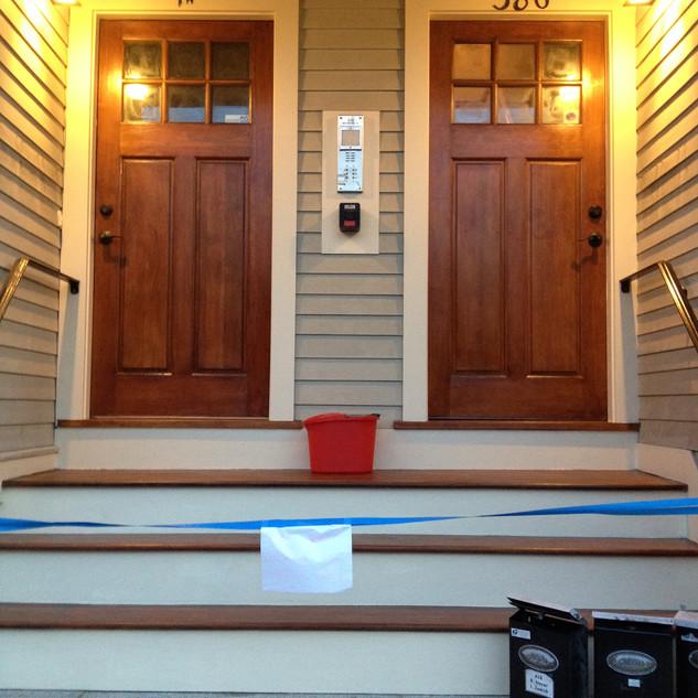 Door Refinishing Painting Staining