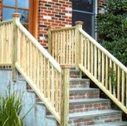 Pressure treated handrails