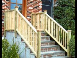 Pressure treated handrails