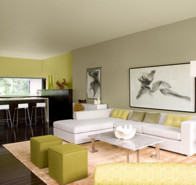 Living Room Painting & Remodelling