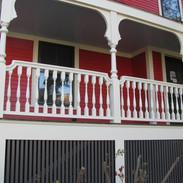 Exterior porch build