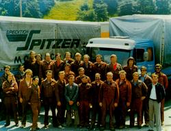 Spedition Spitzer - Mitarbeiter alt