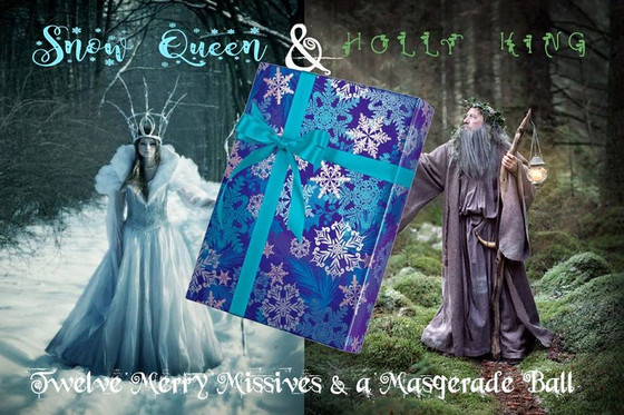 Check out my work in Moon Feather Hollow's Merry Missives!