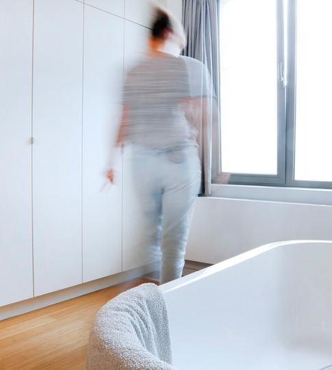 Renovatie van een badkamer