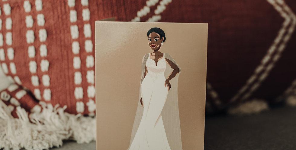 Vitiligo Bride