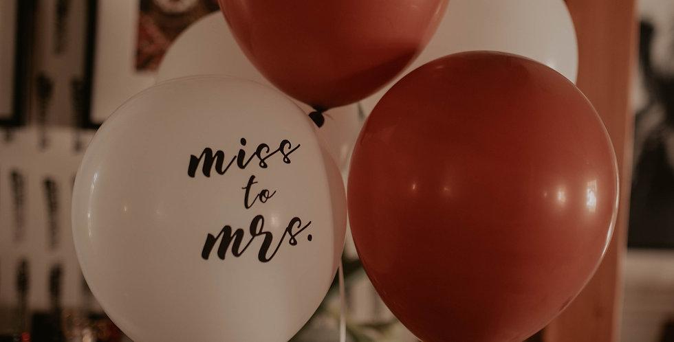 Brown Latex Balloons