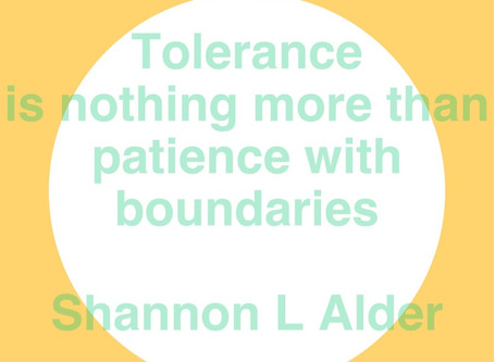 Tolerance With Children