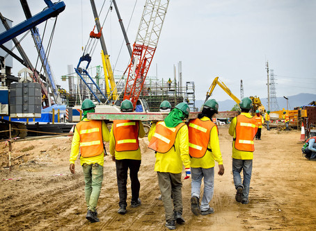 Keeping Safe on Construction Sites