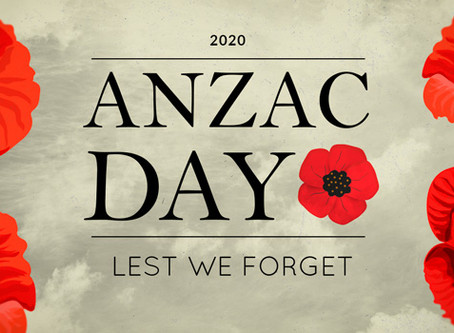 Remembering our ANZACs