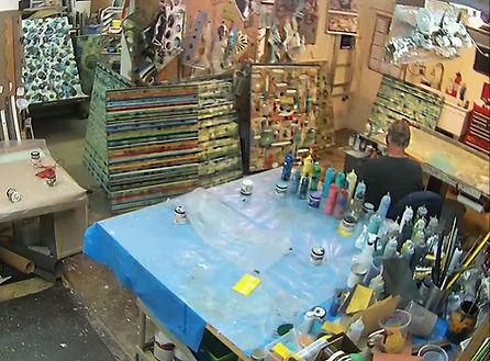 rick loudermilk contemplating next paint