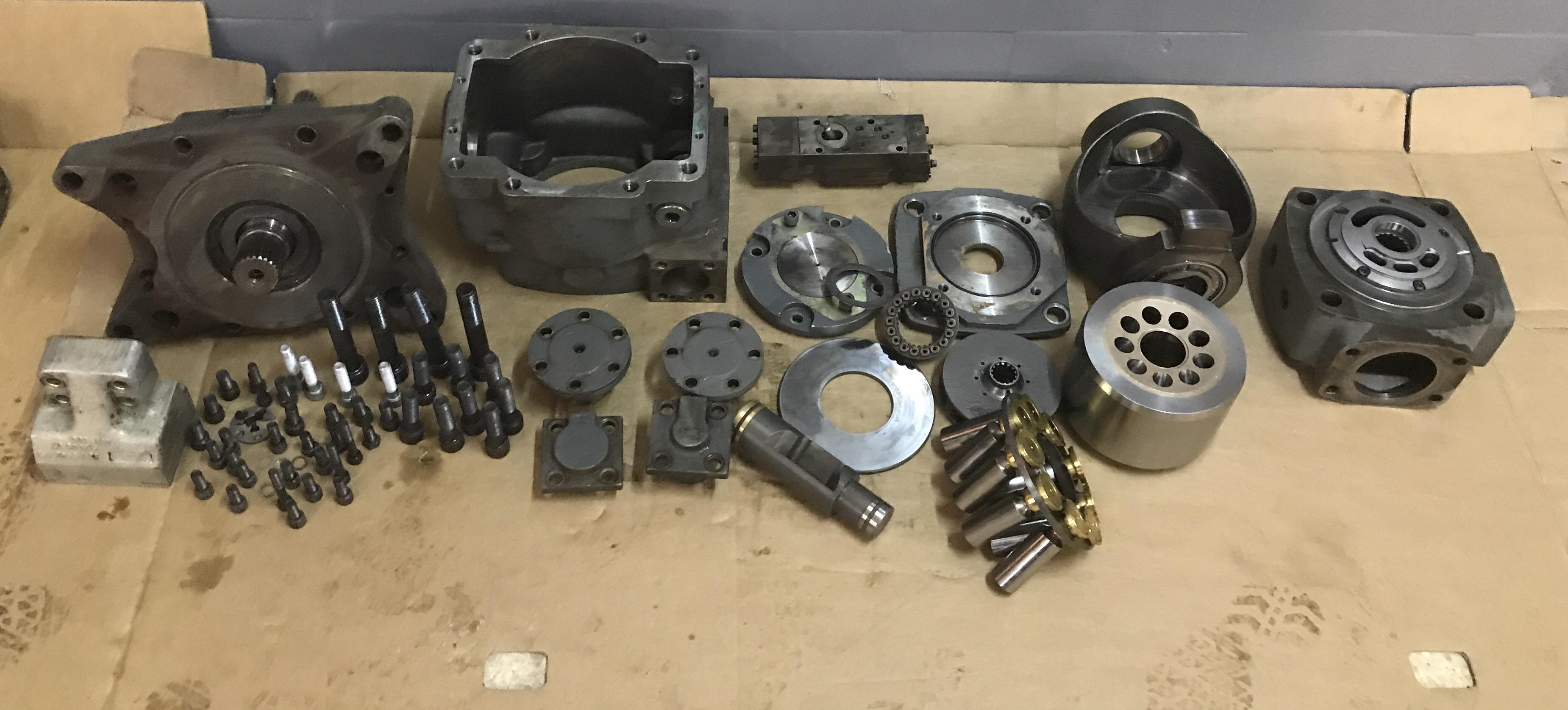 Réparation Pompe Liebherr