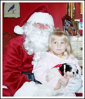 Santa visit DCDogFinders every year to drop off puppies so the won't have to take the long cold ride in the sleigh.