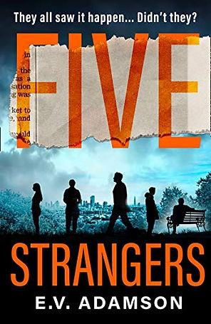 Five Strangers By EV Adamson UK edition