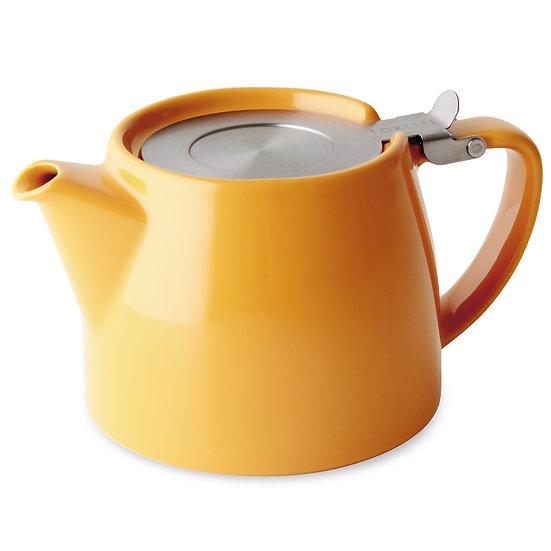 FORLIFE Stump Teapot - Mandarine (Yellow)