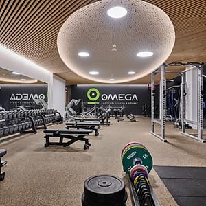 Centrum zdraví a sportu, OMEGA