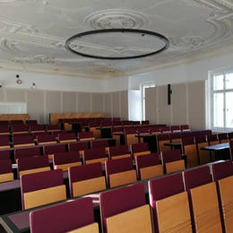 Aula Univerzity Palackého - Křížkovského