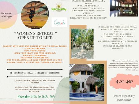 Women's retreat - Open up to life