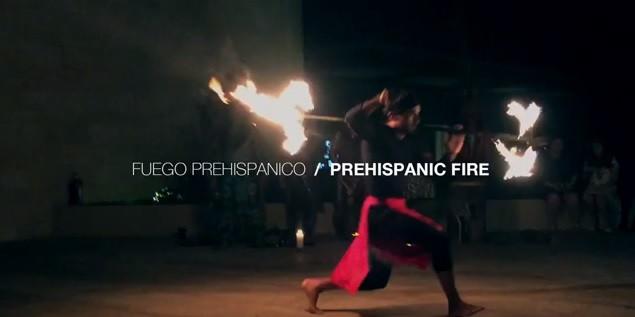 PREHISPANIC FIRE SHOW MEXICO    SHOW DE FUEGO PREHISPÁNICO