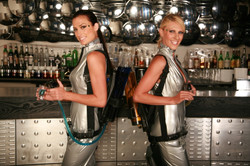 shotgirl futuristic