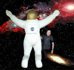 10ft tall Spaceman