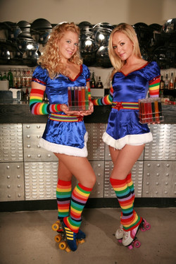 test tube roller babes