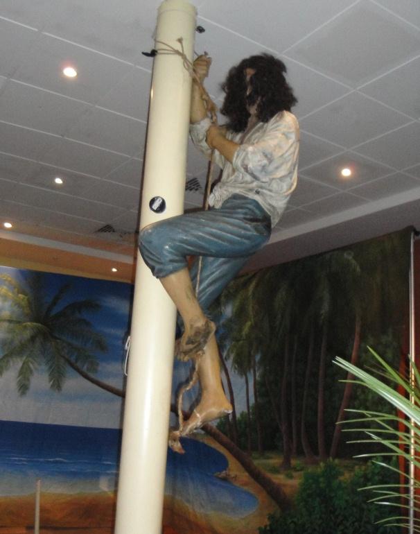 climbing pirate