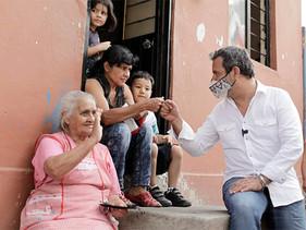 Poblado de Santa Maria respalda a Antonio Villalobos