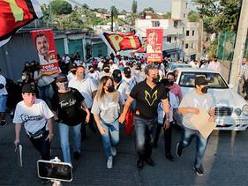 Ganando confianza Antonio Villalobos en contienda electoral por Cuernavaca