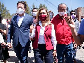 Lorena Cuéllar pinta fuerte para hacer historia en Tlaxcala