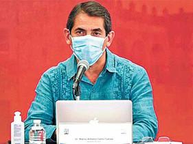 Morelos, más de 2 mil casos COVID-19 en activo