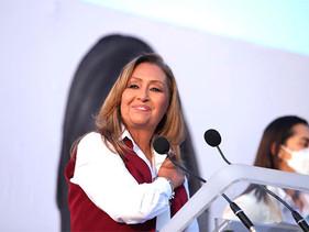 Lorena Cuéllar, da propuestas para consolidar la Cuarta Transformación en Tlaxcala