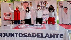 """""""Estoy de regreso en la contienda electoral"""""""