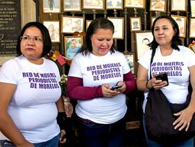 Se pronuncia Red de Mujeres Periodistas de Morelos en torno a violencia