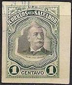1906 | Pres. Pedro José Escalón 1c (sin perforaciones)