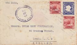 """El Salvador """"Via Auto"""" 1927"""