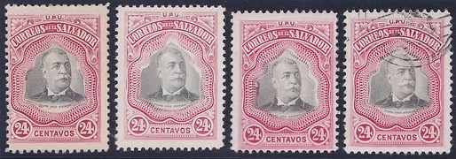 1906 | Presidente Pedro José Escalón (24c)
