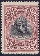 1907 | Pres. Pedro José Escalón (Falsificación Tipo 1)