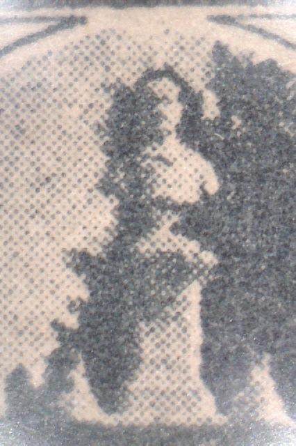 Tumba de Menéndez 1930 (Litografía)