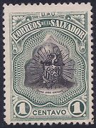 1907 | Pres. Pedro José Escalón (Falsificación Tipo 2)