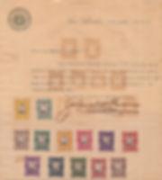 1911 | Carta comercial enviada por Dawson a Alexander D.