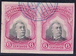 1906 | Pres. Pedro José Escalón 6c (sin perforaciones)