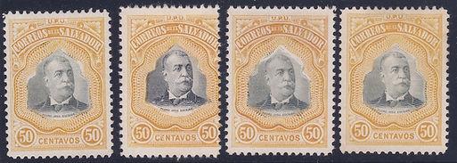 1906 | Presidente Pedro José Escalón (50c)
