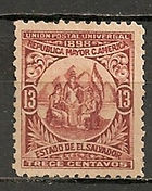 Estado de El Salvador 1898