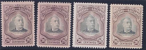 1906 | Presidente Pedro José Escalón (26c)