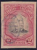 1906 | Pres. Pedro José Escalón 2c (sin perforaciones)