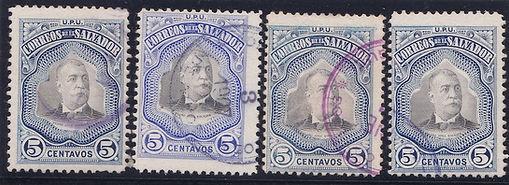 1906 | Presidente Pedro José Escalón (5c)