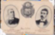 1906 | Tarjeta postal Presidente Pedro José Escalón