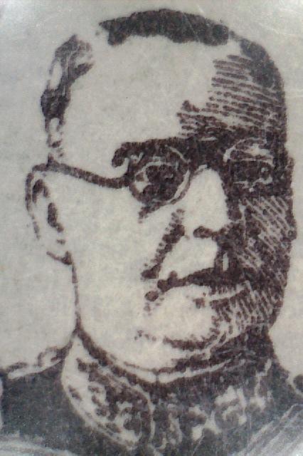 Lázaro Chacón 1929 (Litografía)